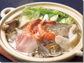 魚介の塩ちゃんこ鍋