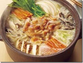鶏野菜みそ鍋